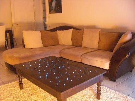 r alisation ciel toil avec fibre optique. Black Bedroom Furniture Sets. Home Design Ideas
