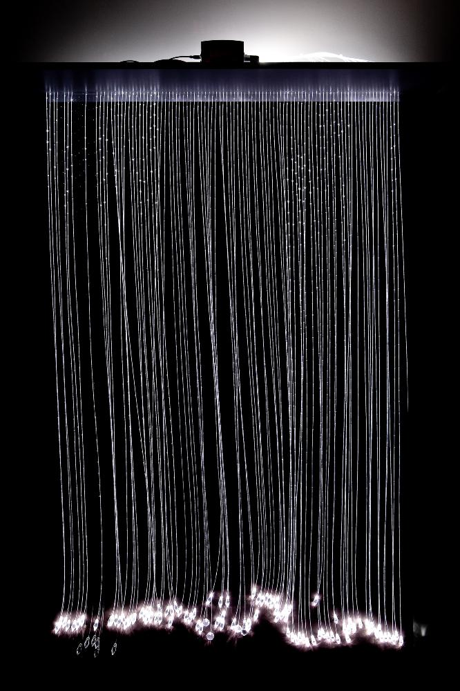 kit rideau lumi re fibre optique. Black Bedroom Furniture Sets. Home Design Ideas
